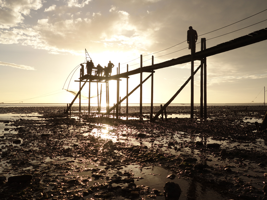 pêcheurs de rêves soir doré